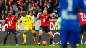 Lille were held to a 0-0 draw.