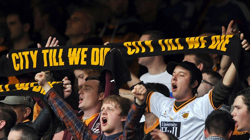 Hull City No Tigers protest