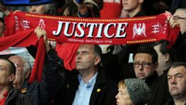 Liverpool Hillsborough justice scarf