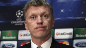 Moyes and United have to overturn a two-goal aggregate deficit if they are to progress into the quarterfinals.