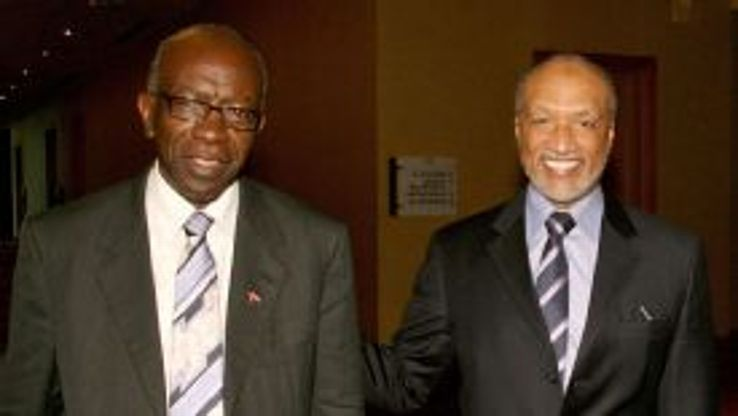 Jack Warner and Mohamed Bin Hammam both left FIFA in 2011.