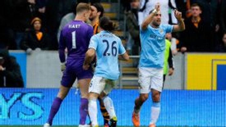 Joe Hart and George Boyd were involved in an angry confrontation.