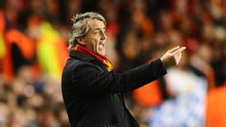 Roberto Mancini's Galatasaray did not put up much of a fight at Chelsea.