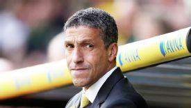 Chris Hughton's Norwich face an incredibly difficult run-in.