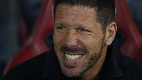 Diego Simeone has taken to management well with Atletico.