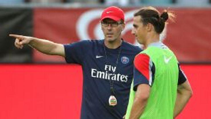 Laurent Blanc, Zlatan Ibrahimovic
