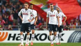 Spurs drew in Lisbon but still exited the Europa League to Benfica.