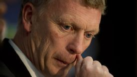 David Moyes faces a tough task if he is to see Manchester United into the semifinals.