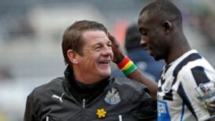 In Alan Pardew's absence, John Carver claimed a win for Newcastle thanks to Papiss Cisse's late goal versus Palace.