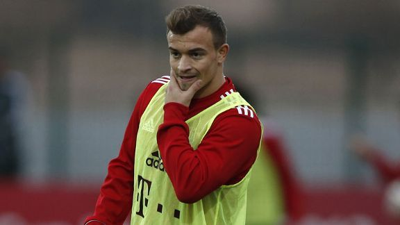 Shaqiri casts doubt over Bayern future