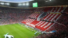 Bayern Munich have had the Allianz Arena partially closed for the visit of Manchester United.