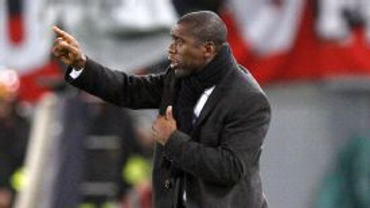 Clarence Seedorf has had a difficult start to life as Milan boss.