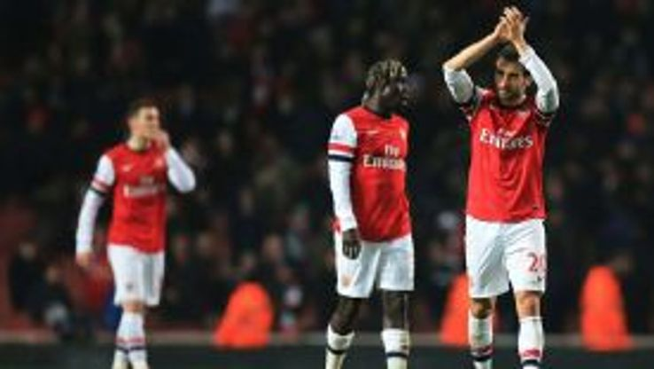 Arsenal drew 2-2 with Swansea on Tuesday night.