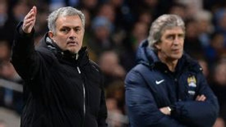 Jose Mourinho and Manuel Pellegrini have not seen eye to eye this season.
