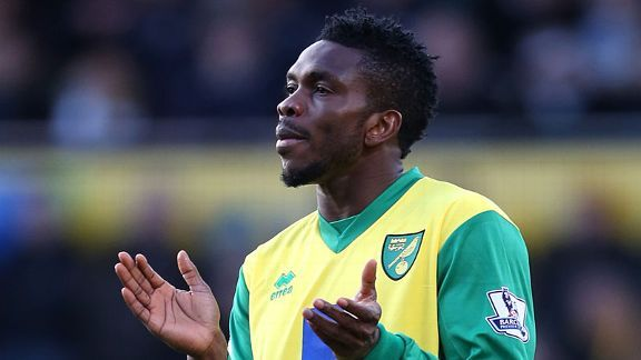 Joseph Yobo is currently on loan at Norwich.
