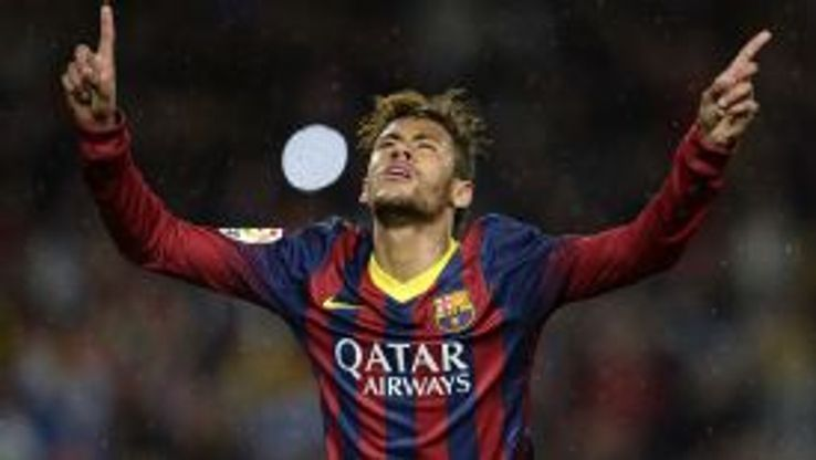 Neymar helped himself to a brace against Celta Vigo.
