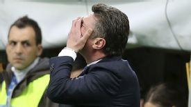 Walter Mazzarri saw his Inter side beaten by Atalanta.