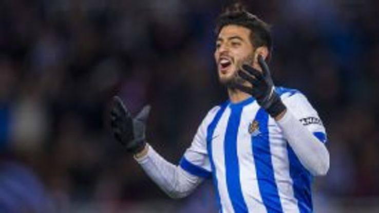 Carlos Vela was on target for Real Sociedad.