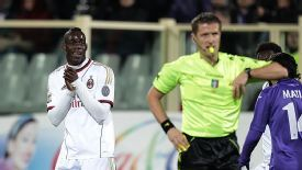 Mario Balotelli was unhappy with his caution in the victory.