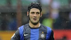 Cristian Chivu has not played a competitive game for Inter this season.