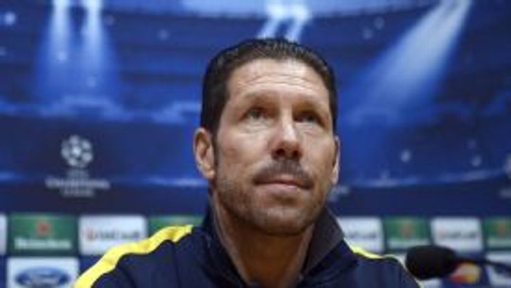 Diego Simeone takes his Atletico side to Barcelona as La Liga leaders.