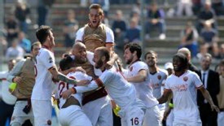 Roma beat Sassuolo in Serie A on Sunday.