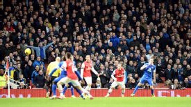 Everton drew 1-1 at Arsenal in their meeting at Emirates Stadium in December.