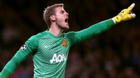 De Gea has been one of United's top performers this season.