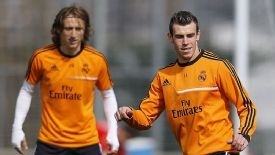 Luka Modric played alongside Gareth Bale at White Hart Lane.