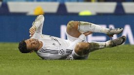 Cristiano Ronaldo came off injured during Real Madrid's win over Dortmund.