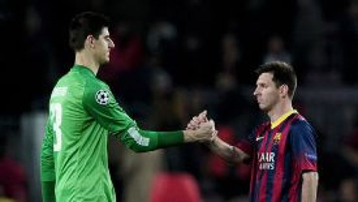 Thibaut Courtois impressed against Barcelona on Tuesday.
