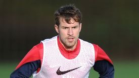 Aaron Ramsey is back in training.