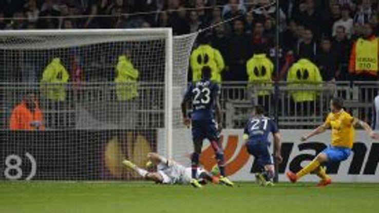 Leonardo Bonucci scored a late winner for Juventus at Lyon.