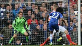 Willian scored Chelsea's third with an excellent strike.
