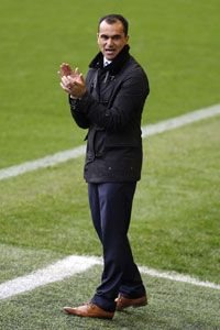 Roberto Martinez was thrilled with his side's performance against Arsenal.