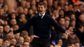 Tottenham manager Tim Sherwood has had a difficult introduction to life as a manager