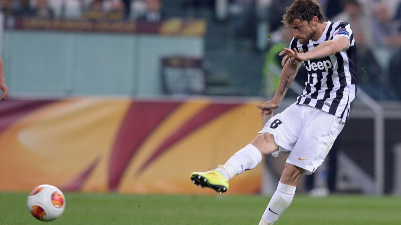 Claudio Marchisio's long-range strike was diverted home via a wicked deflection
