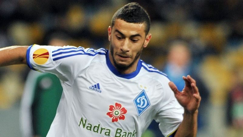 Younes Belhanda signed a five-year deal with Dinamo Kiev.