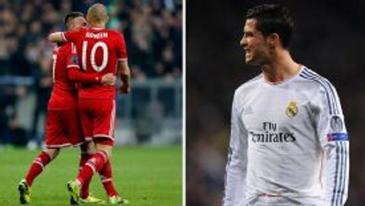 Ribery and Robben's Bayern are hoping to retain the trophy while Ronaldo's Real are seeking a record 10th title.