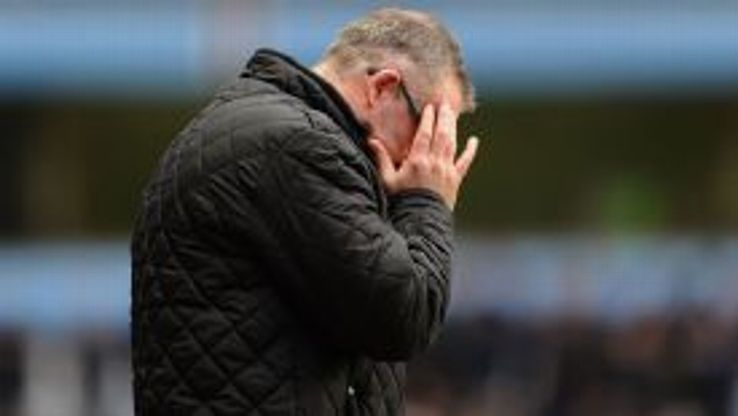 Villa manager Paul Lambert's standing amongst the club's support is dwindling.