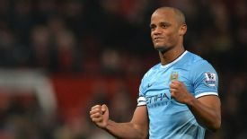 Vincent Kompany is a key player for Man City.