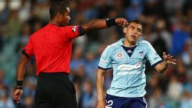 Australian A-League referees are to wear microphones which will broadcast their decisions on television.