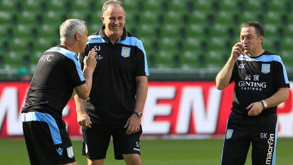 Ian Culverhouse and Gary Karsa came to Aston Villa from Norwich City with Paul Lambert.