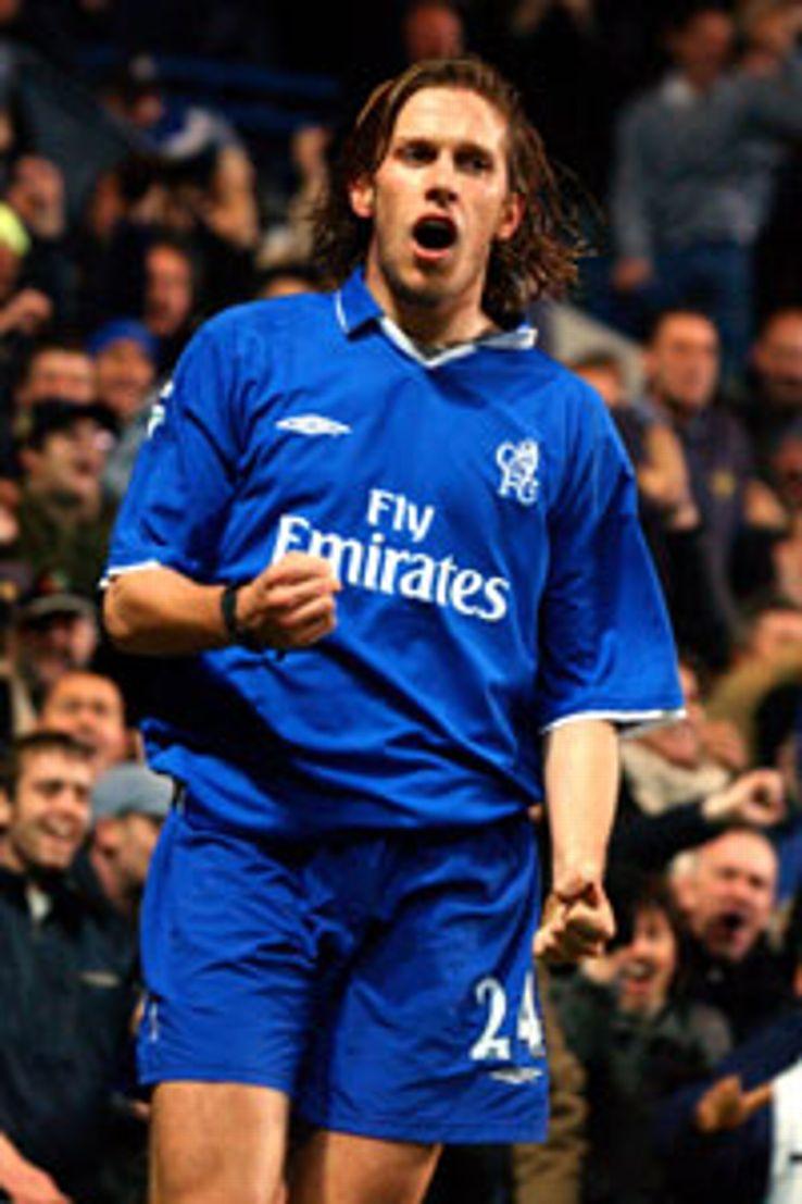 Samuele Dalla Bona left Chelsea for AC Milan in 2002.