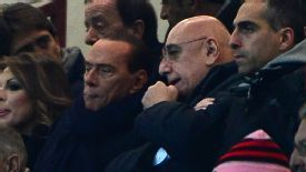 Adriano Galliani praised Silvio Berlusconi for the success he has brought to the club.