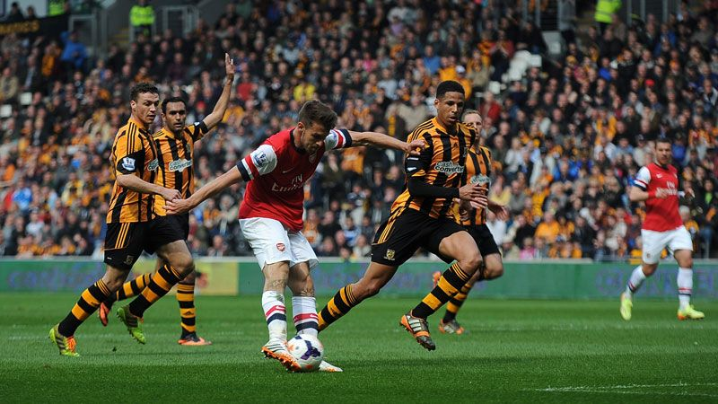 Aaron Ramsey scored the opener for Arsenal at Hull and showed what Arsene Wenger had been missing.