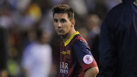 Lionel Messi has endured a dip in form in recent weeks.