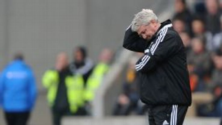 Steve Bruce was downbeat after Hull were soundly seen off by Arsenal but there were positives to be had.