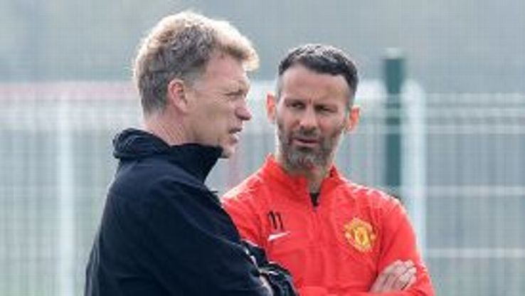 Ryan Giggs had been on David Moyes' coaching staff this season.