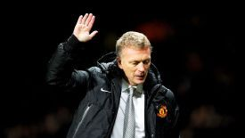 David Moyes was appointed as Sir Alex Ferguson's successor in May 2013.